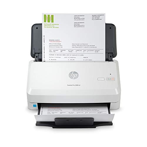HP ScanJet Pro 3000 s4 (Scanner, Einzelblattzufuhr, 50-Blatt ADF, USB)