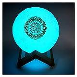 WENYOG Altavoz Bluetooth Portatiles Altavoces Bluetooth Altavoces de luz de Noche inalámbricos 3D con Control Remoto SpeEEEKR Lámpara de Tacto Ligero Altavoz Bluetooth (Color : 15cm, Set Type : 1)