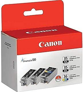 CANON BR IP100, 1-BLK/2-CLR VALUE PK 1509B007 by CANON