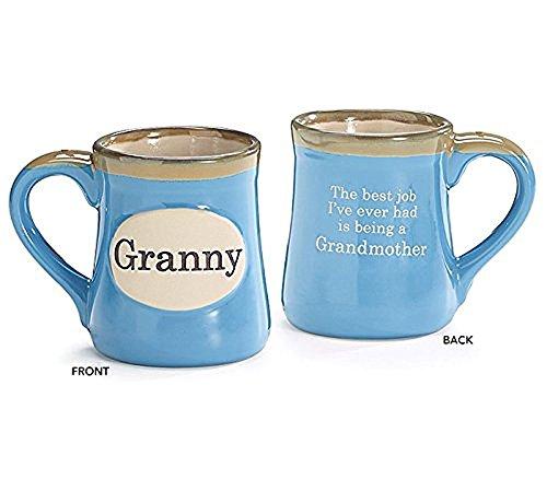 Granny Hand-Painted Porcelain 18oz Coffee Mug