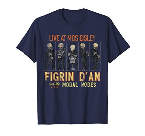 Star Wars Figrin D'an Mos Eisley Vintage Concert T-Shirt