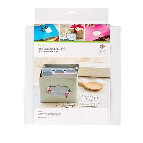 Anna Griffin Make Something You Love Printable Material Kit for Cricut Maker & Explore