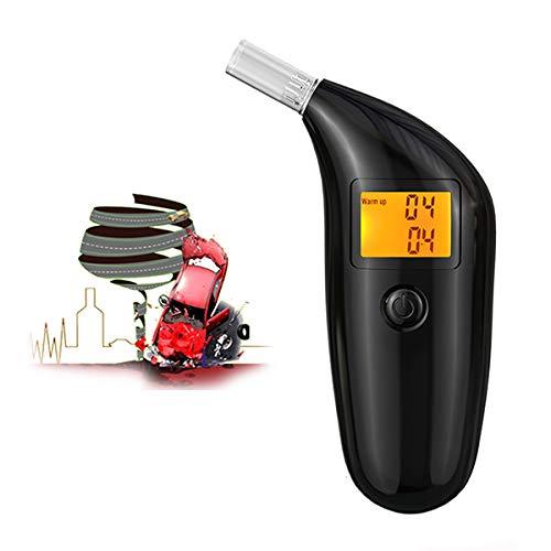 LJJJKCYS Alkoholtester Hochempfindlicher Halbleiter Intelligenter Mikroprozessor Alcofind mobiles digitales Atem Alkoholmessgerät