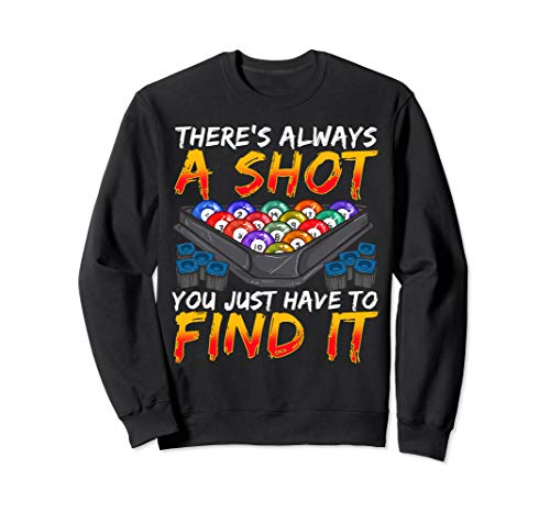 Pool Billard Snooker Hobby Sport Geschenke Sweatshirt