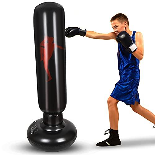 Nabance Boxsack Kinder Aufblasbarer...