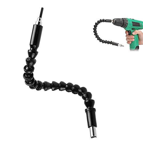 Flexible Shaft Bits, Extension Schraubendreher Bohrer Verbindungsg 290MM Flexible Power Bit Connect Schraubenzieher Bohrer Winkelverlängerung Bit Verbindung