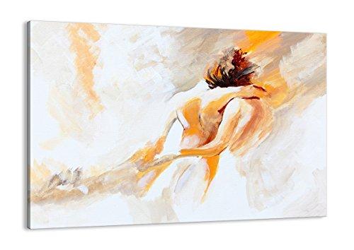ARTTOR Gemälde Wohnzimmer und Bilder Schlafzimmer. Wand Dekoration für alle Räume - Bild auf Leinwand in vielen Größen - AA100x70-3168