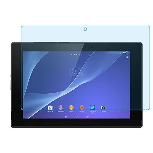 """Vaxson 2-Pack Anti Luce Blu TPU Pellicola Protettiva, compatibile con Sony Xperia Z2 Tablet SGP 512 511 541 10.1"""", Screen Protector Film [ Non Vetro Temperato ]"""