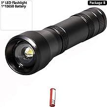 5 Modes LED UV Flashlight Ultraviolet Torch with Zoom Function Mini UV Black Light Pet Urine Stains Detector Scorpion Hunt...