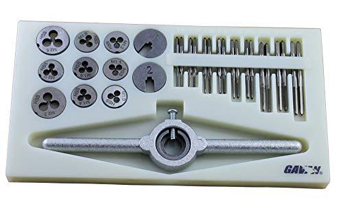 31 PCS Mini HSS Metric Tap and Die Set M1 to M2.5