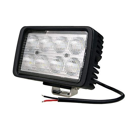 CRAWER Arbeitsscheinwerfer 40 W rechteckig 6.000K 4400 Lumen Kaltweiß Indoor Offroad arbeitslicht arbeitsleuchte LED Leuchte Traktor lampe scheinwerfer IP68 high intensity CREE XTE LEDs