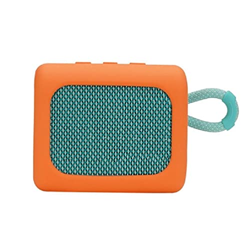 Caja de goma impermeable silicona que lleva la caja de viaje para JBL-GO3 altavoz inalámbrico altavoz inalámbrico mujeres hombres adultos caso altavoz inalámbrico