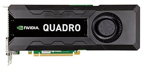 HP NVIDIA Quadro K5000 4GB Quadro K5000 4GB GDDR5 - Tarjeta gráfica (Quadro K5000, 4 GB, GDDR5, 256 bit, 4096 x 2160 Pixeles)