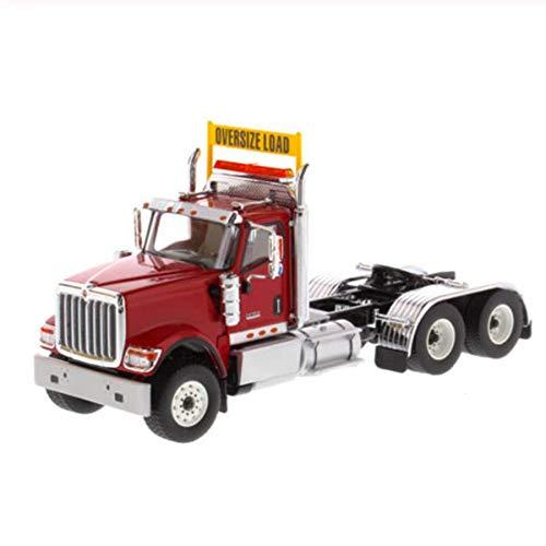 tytlmask Engineering Fahrzeug Modell 1/50 Hx520 Day Cab Tandem Traktor Anhänger LKW Sammlung Druckguss Modellautos Spielzeug Geschenk