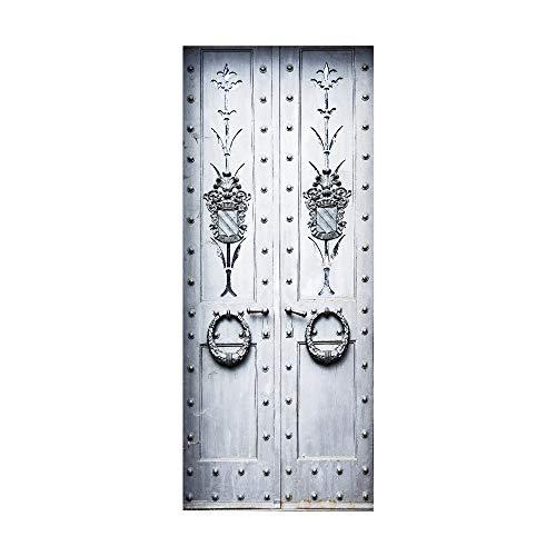 Türtapete Selbstklebend Türposter 3D Bewirken Fototapete Türfolie Poster Tapete Abnehmbar Wandtapete Für Wohnzimmer Küche Schlafzimmer 90X200Cm ( Bolzen )