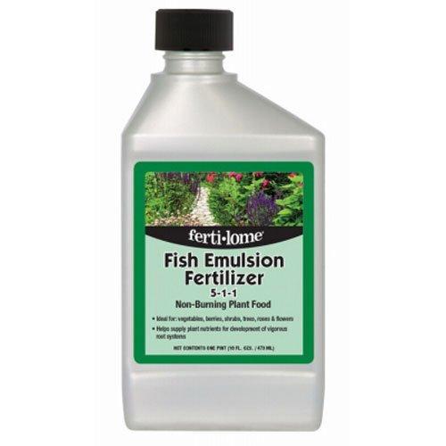 Voluntary Purchasing Group 10611 Fertilome Concentrate Fish Emulsion Fertilizer, 16-Ounce