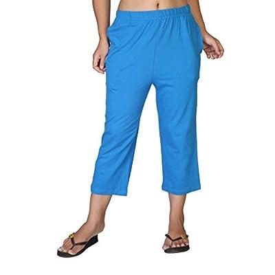 Clifton Women's Solid Capri - Royal Blue