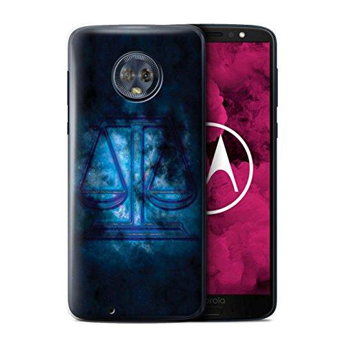 Stuff4 telefoonhoesje/hoes voor Motorola Moto G6 2018/Weegschaal/Schalen Design/Zodiac Star Sign Collection