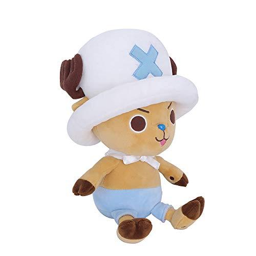 Refaa Plüschpuppe, Tony Tony Chopper Kuscheltier / Cartoon Plüschspielzeug für Kinder Sammler-Geburtstagsgeschenkpuppe für Kinder