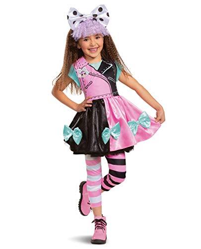 Disguise iBaste-Mantel LOL Pranksta Doll Costume Surprise Inside! Girls Dress Up Halloween Kids (Small) Black, Pink