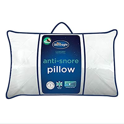 Silentnight Luxury Quilted Anti-Snore Pillow