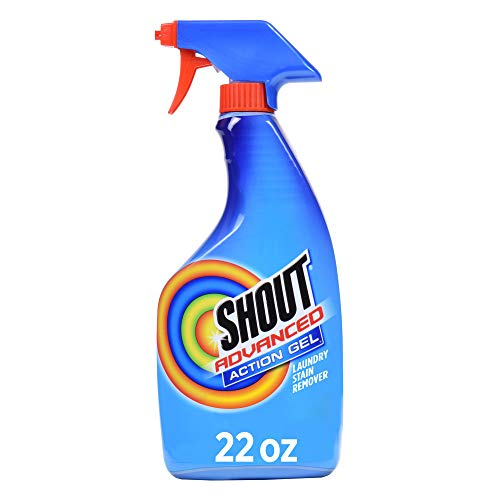 Shout Spray and Wash Advanced Action Stain Remover for Clothes 22 oz