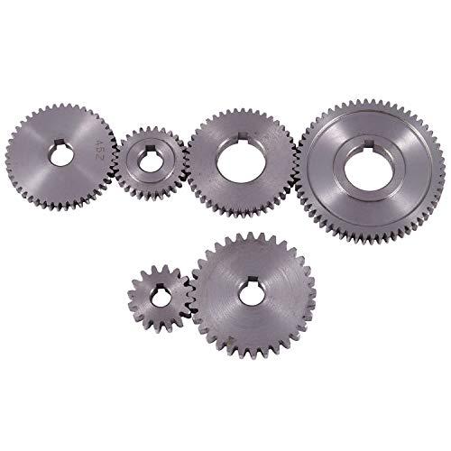 Nrpfell X1-1000 Juego De Engranajes De Metal De 6 Piezas X1 Juego De Engranajes De Cambio 45 Juego De Engranajes De Acero