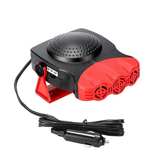 Portable Car Heater, 2 in 1 Electric Car Heater with Cooling...