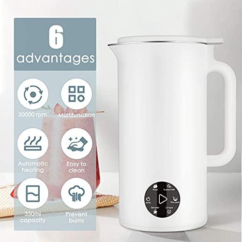 MATHOWAL Batidoras espumadoras de leche automáticas