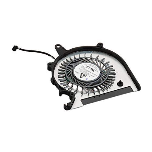 IPOTCH Nuevo para VAIO Pro 13 SVP13A SVP1321 Ventilador de Refrigeración de CPU UDQFVSR01DF0, Negro