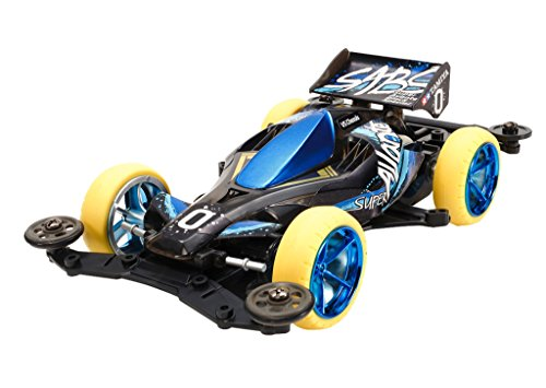 TAMIYA MINI 4 WD SUPER AVANTE BLACK SPECIAL LIMITED EDITION ITEM 95078 VS CHASSIS