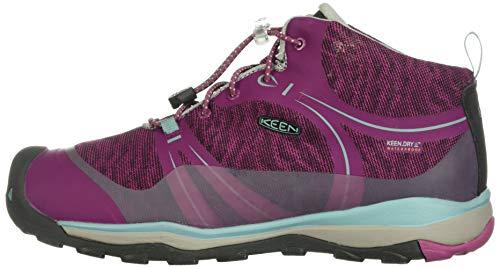 KEEN キッズスニーカー テラドーラ ミッド ウォータープルーフ Boysenberry Red Violet US 9 16 cm