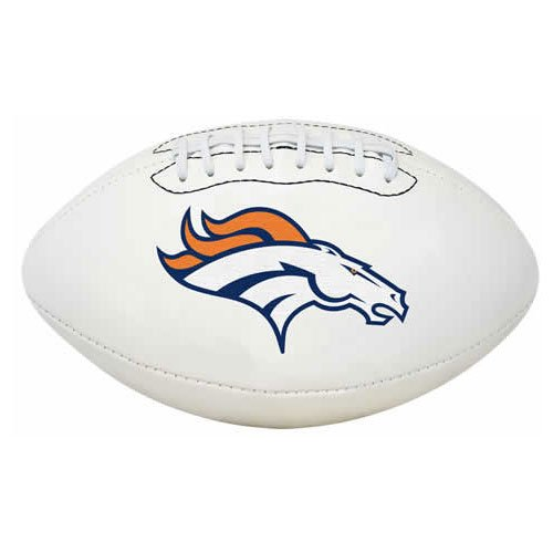 NFL Signature Series Full Regulation-Size Football, Denver Broncos