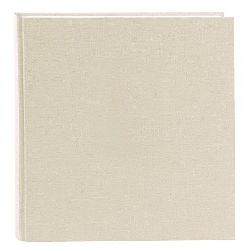 Goldbuch 27605 - Album fotografico Summertime Trend 2, con 60 pagine bianche con divisori in pergamena, album dei ricordi con copertina in lino, colore: beige, 30 x 31 cm