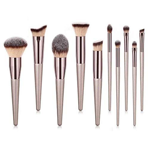 Mougerpai Make-Up Pinsel Set Spezial Make-Up Pinsel 10 Kontur-Rougesets
