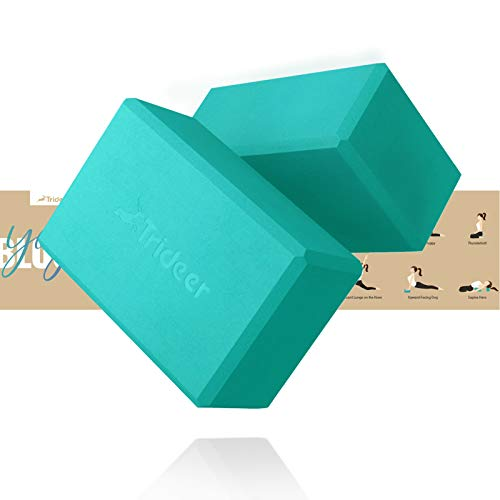 Trideer Yoga Blocks 2 Pack