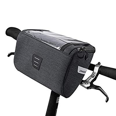 Allnice Handlebar Bag Bicycle Front Bag Pack Outdoor Cycling Pack Panniers Accessories 3L