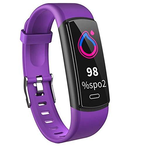 Ake Moda Reloj Inteligente rastreo de tarifas cardíacas IP67 Pulsera Deportiva a Prueba de Agua Reloj de podómetro de Fitness para Hombre para Android iOS,A