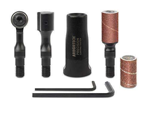 ARBORTECH Precision Carving System | Schitzwerkzeug im Set für Winkelschleifer zur Holzbearbeitung | PCS.FG.1000
