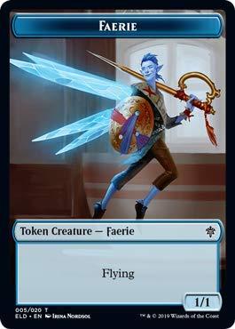 Magic: The Gathering - Faerie Token - Throne of Eldraine