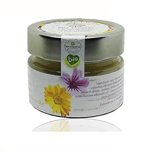 Crema facial bio termal hidratante con agua termal de Luna, aceites de oliva y rosa mosqueta, 100 ML, crema hidratante Bio