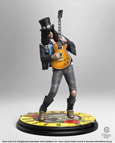 Guns N Roses Knucklebonz Slash Rock Iconz Statue