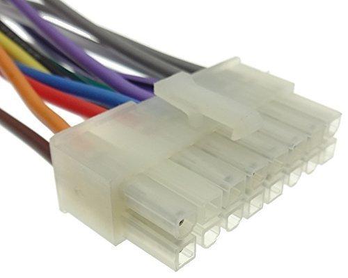 CLARION (2) Autoradio Kabel Radio Adapter Stecker ISO Radio Anschlußkabel DIN