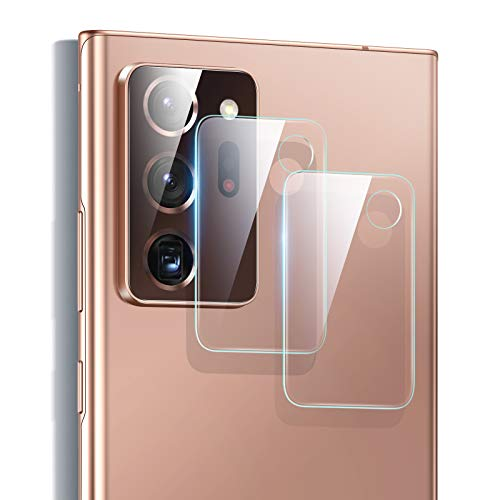 ESR Protector de Lente para cámara para Samsung Galaxy Note 20 Ultra[2 Unidades] [Cristal Templado] [Resistente Arañazos] [Ultrafino] - Transparente