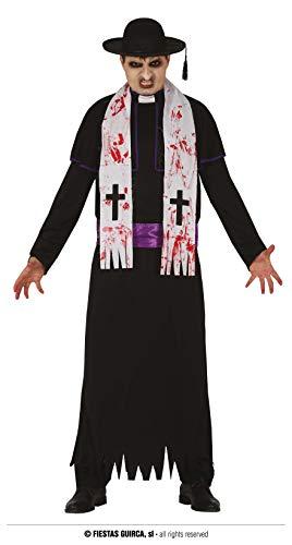 FIESTAS GUIRCA Cura Zombie Disfraz de Halloween Hombre Talla Adulto L