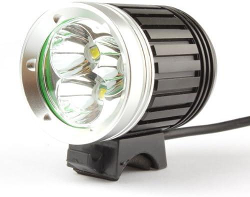 FARO 5x LED MTB 7000 LUMEN BICI FANALE CREE XM-L U2 BICICLETTA BICYCLE LIGHT T6