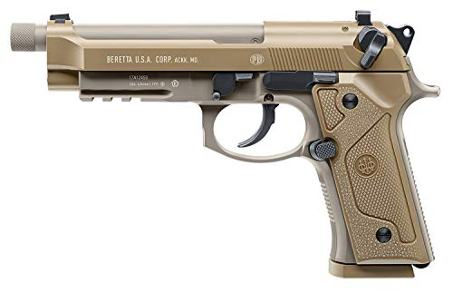 Umarex Beretta M9A3 Blowback Full-Auto .177 Caliber BB Gun Air Pistol, Beretta M9A3 Air Gun, Black, one Size (2253024)