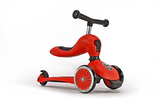 スクート&ライド ハイウェイキック1 工具不要で切替できるキッズスクーター⇔ペダルなし自転車の2wayスクー...