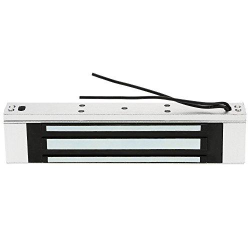OWSOO Magnetschloss Elektrische 180KG 350lbs Haltekraft für Tür Zutrittskontrollsystem Elektromagnet Ausfallsichere NC-Modus