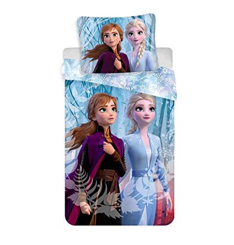 Juego de ropa de cama infantil (140 x 200 cm), diseño de Frozen 2